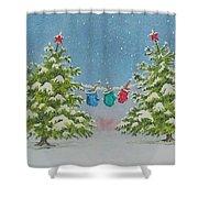 Winter Is Fun Shower Curtain