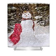 Winter Is Here Shower Curtain