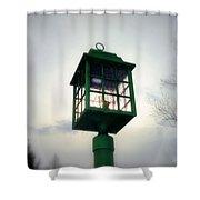 Winter Light Shower Curtain