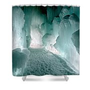 Winter Lit Shower Curtain
