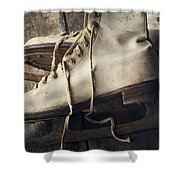 Winter Memories Shower Curtain