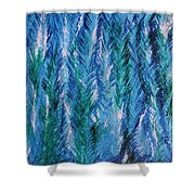 Winter Of My Son Shower Curtain