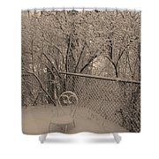 Winter Of One Shower Curtain