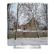 Old Monastery Shower Curtain