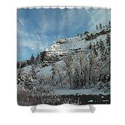 Winter Scene Shower Curtain by Jeff Swan