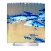 Winter Sky Shower Curtain
