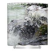 Winter Splash Shower Curtain