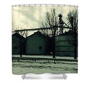 Winter Storage Shower Curtain