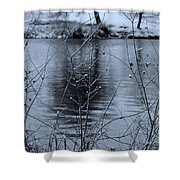 Winter Touch Shower Curtain