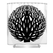 Unity - Winter Tree Shower Curtain