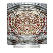 Winter Versus Spring Thaw Shower Curtain