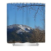 Winter Vista From Grants Pass Shower Curtain