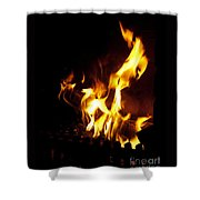 Winter Warmth Shower Curtain
