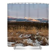 Winter Wilderness Landscape Yukon Territory Canada Shower Curtain