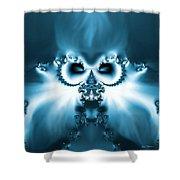 Winter Wizardry Shower Curtain