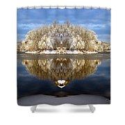 Winter Wonderland Love Shower Curtain