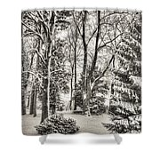 Winter Zauber 03 Shower Curtain
