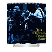 Winterland Blues With The Marshall Tucker Band 1976 Shower Curtain