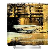 Winterlude At Robin Hood Dell Shower Curtain