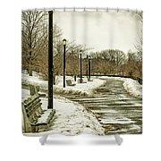 Winters Beauty Shower Curtain