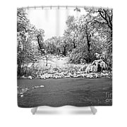Winter's Blanket 2 Shower Curtain