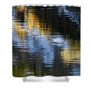 Winters Color Shower Curtain
