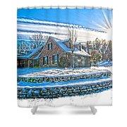 Winters Day Photoart 6 Shower Curtain