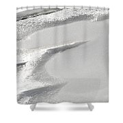 Winter's Patterns Shower Curtain