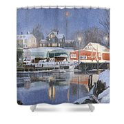 Winters Rest Shower Curtain