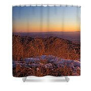 Winter's Splendor Shower Curtain by Heidi Smith
