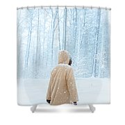 Winter's Tale Shower Curtain