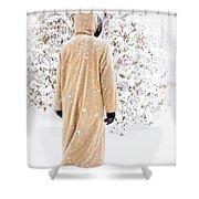 Winter's Tale II Shower Curtain