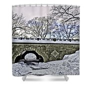 Winter's Touch  Shower Curtain