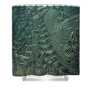 Winter's Work 3 Shower Curtain