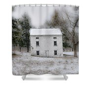 Wintertime In Valley Forge Shower Curtain by Bill Cannon