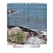 Winthrop Water Shower Curtain