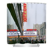 Wintry Day At The Apollo Shower Curtain