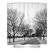 Windy Road Shower Curtain