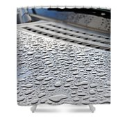 Wipers Shower Curtain