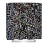 Wire Mesh Shower Curtain