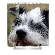 Wired For Laughs Shower Curtain
