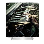 Wired For Sound Shower Curtain