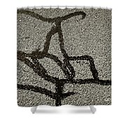 Wired Thought Shower Curtain