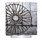 Wired Wire On Wire Shower Curtain