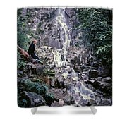 Wirt At Falls In Bc Shower Curtain