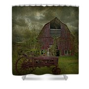 Wisconsin Barn 3 Shower Curtain