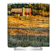 Wisconsin - Country Morning Shower Curtain