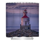 Wisconsin Point  Shower Curtain