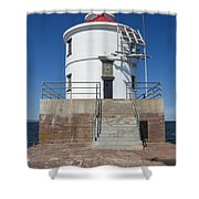 Wisconsin Point Lighthouse 6 F Shower Curtain