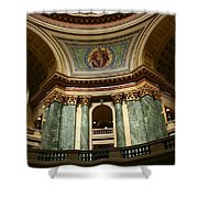 Wisconsin State Capital Building 1  Shower Curtain